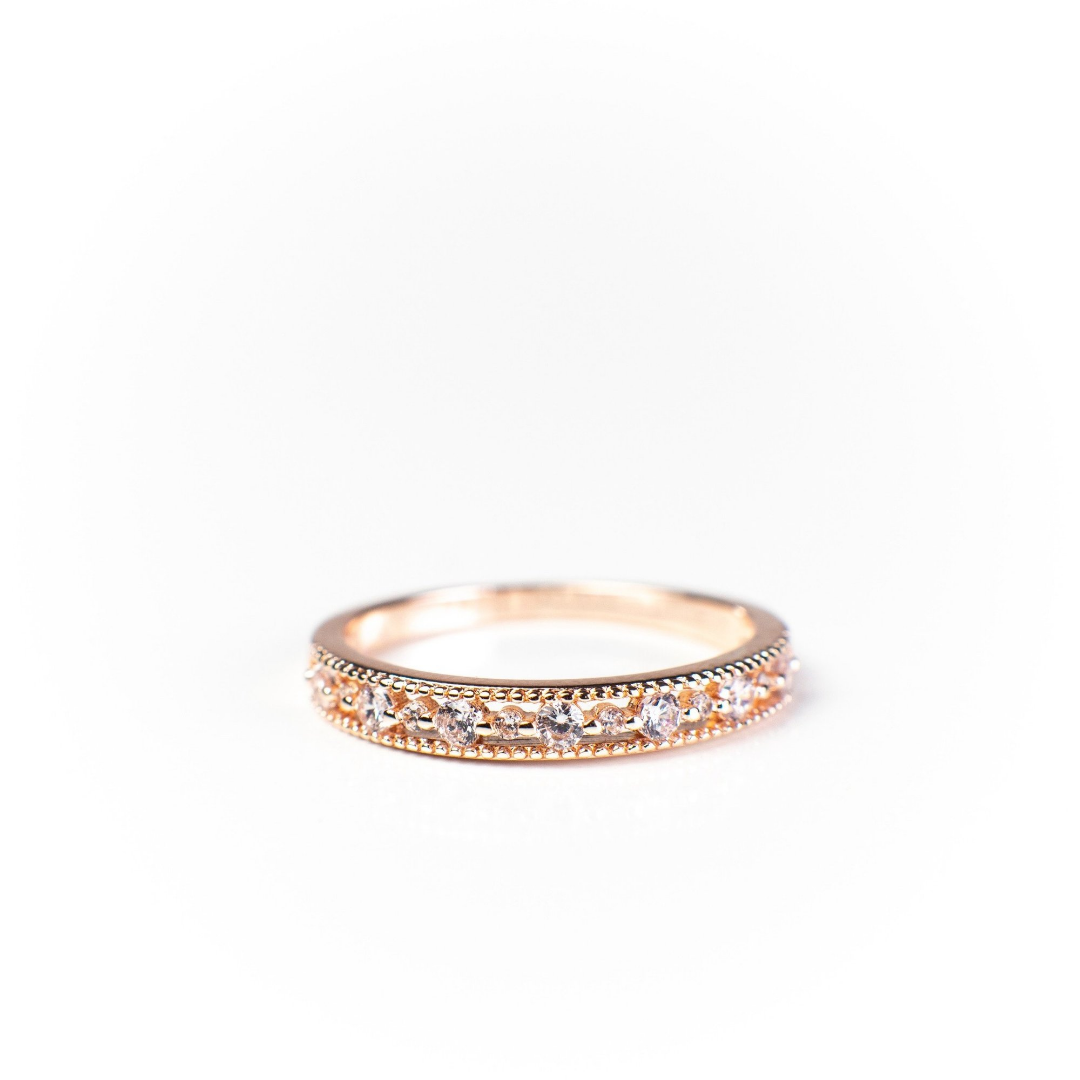 Joyce Layered Stack Ring 18K Gold Vermeil