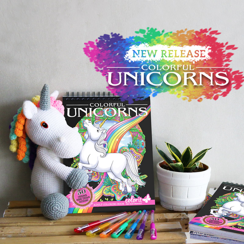 Colorful Unicorns