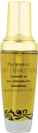 skin exhaustion cleansing oil