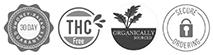 THC, Organic, Money Back Guarantee