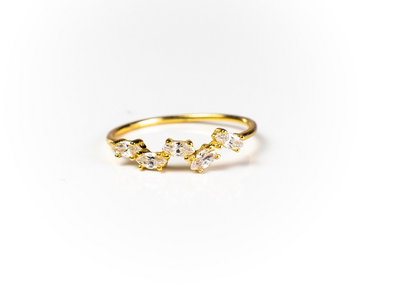 Genna 18K Gold Vermeil Ring