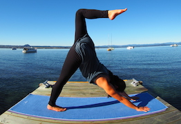 Shantihi Yoga Towel