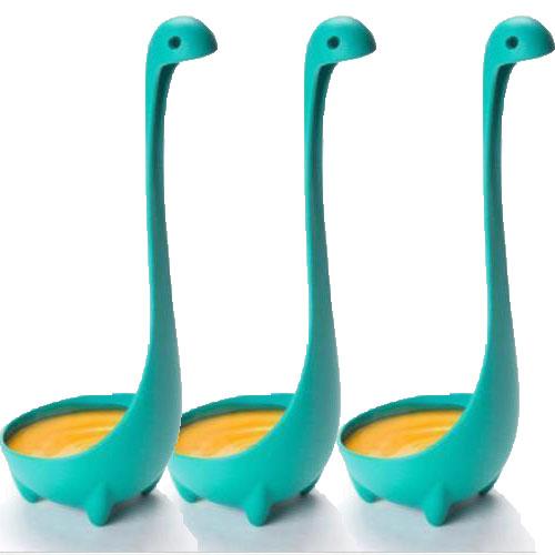 Set of 3 Nessie Ladles