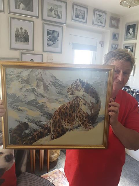Paint By Numbers - Snow Leopard
