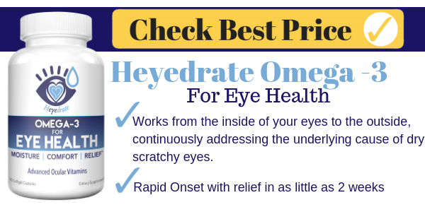 Heyedrate Omega 3 for Eye Health