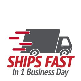 Your order ships fast in one business day