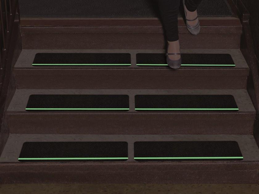 Glow Stripe Stair Treads
