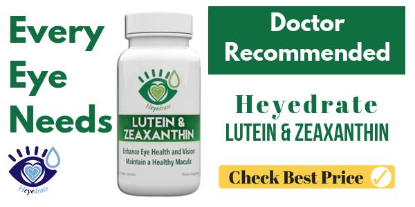 Heyedrate Lutein and Zeaxanthin Vision Supplement