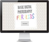 Powerpoint Presentation for Kids Photography Curriculum