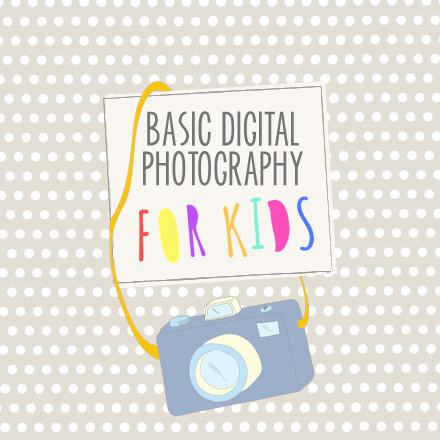Teach Photography to Kids Curriculum