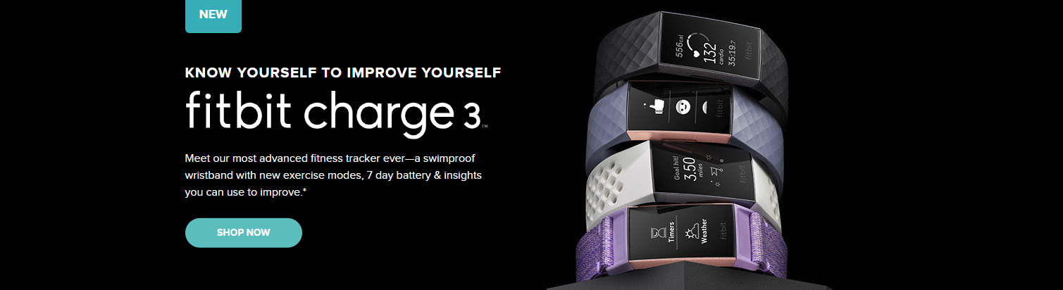 Charge 3 Fitbit