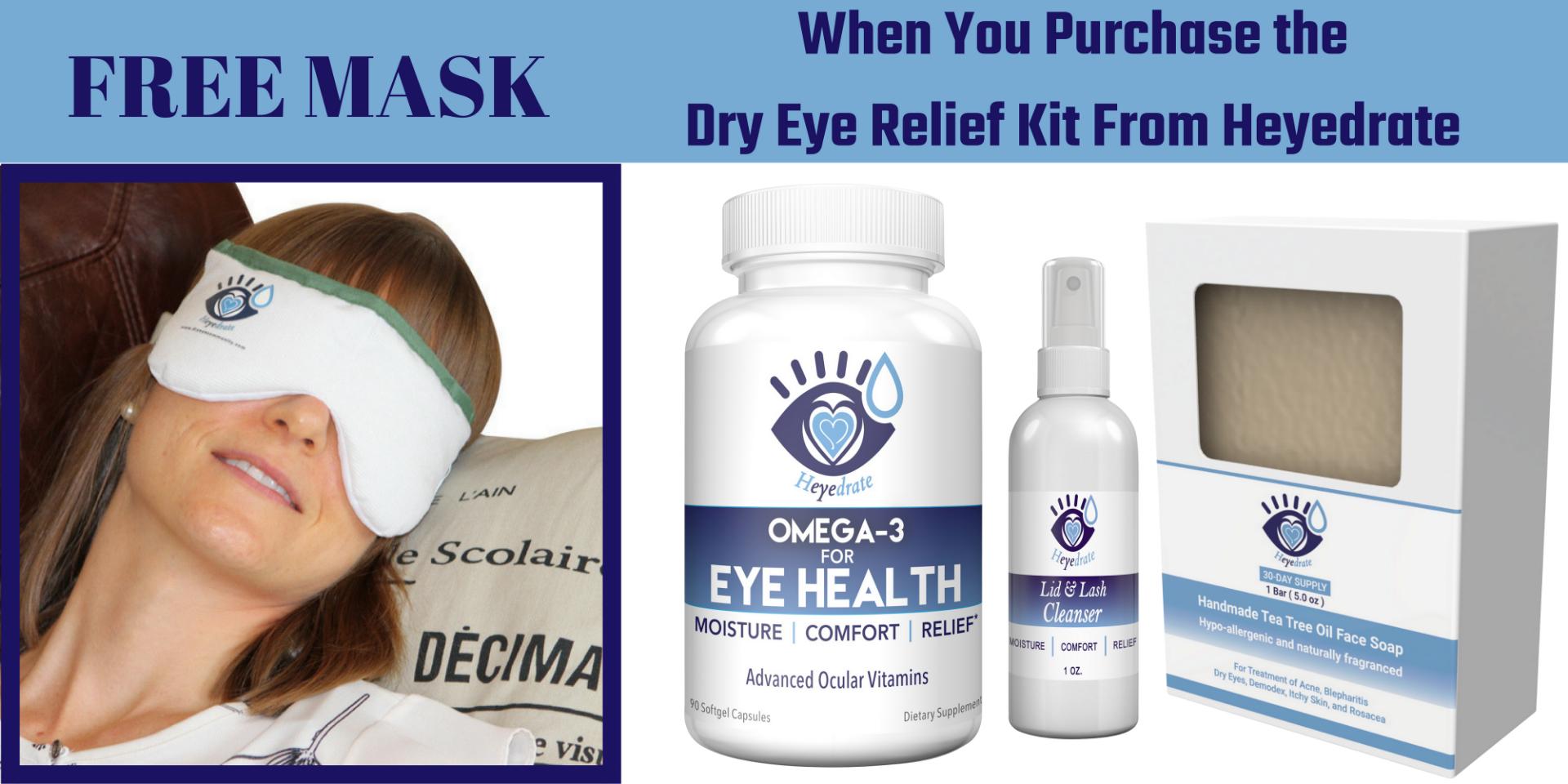 Heyedrate Dry Eye Relief Kit