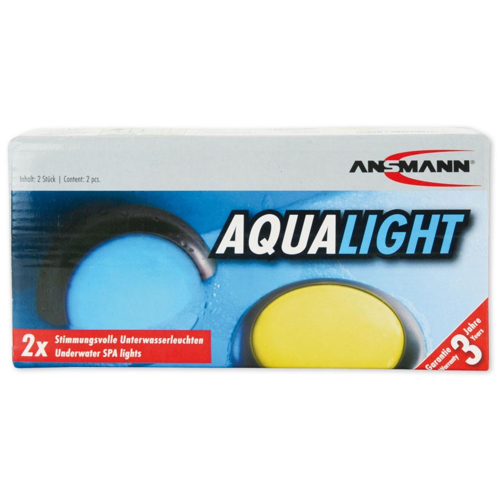 Aqua Light LED Shower & Bath Spa Light (Waterproof and Floatable)