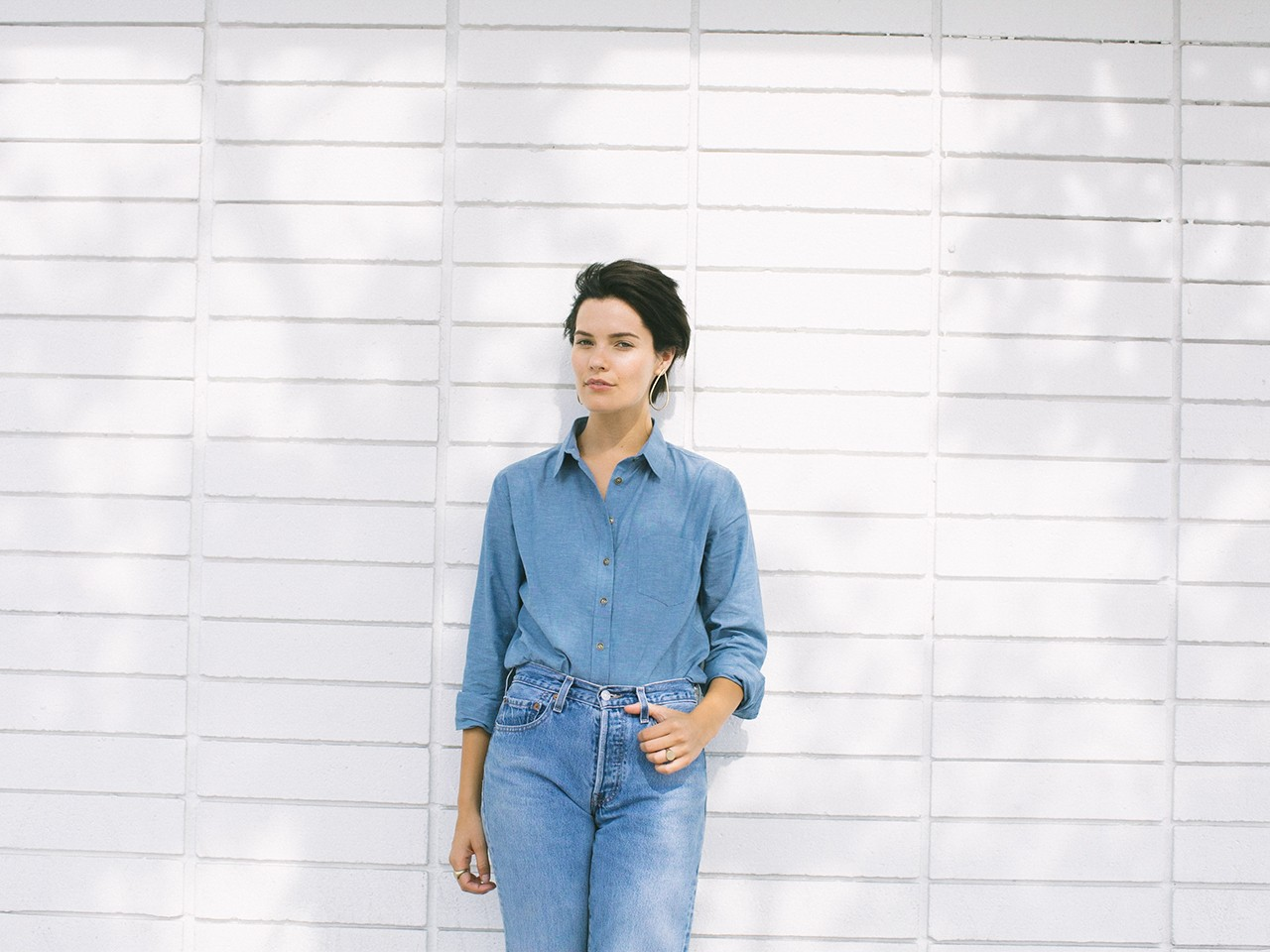 Chambray Shirts for Women | 101 The Clare