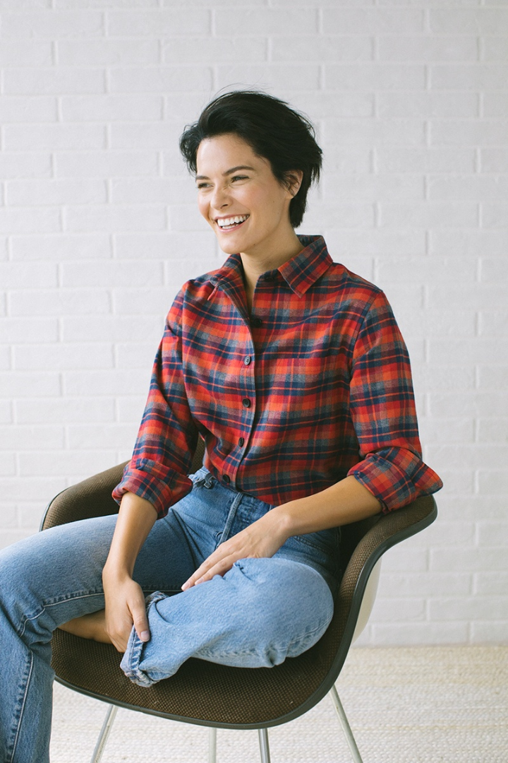 Women's Flannel Shirts | The North Coast Solstice