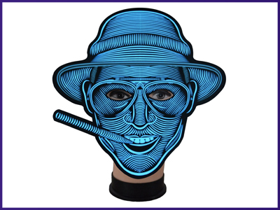 City Slicker Light Up Mask