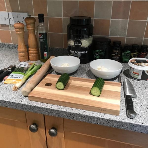 Cucumber Dip Ingredients