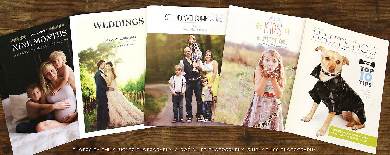 photographer welcome guide templates