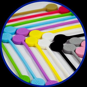 TwistieMag Magnetic Twist Ties - 20 Colors To Choose From