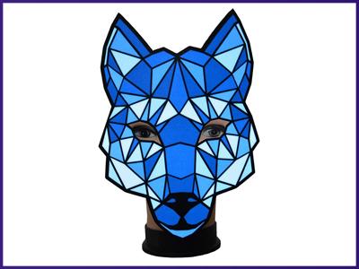 City Slicker Light Up Mask