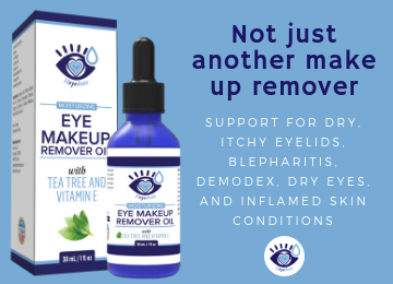 Heyedrate Eye Makeup Remover Oil - with Tea Tree And Vitamin E