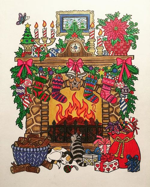Free Downloadable Christmas Drawings Customer Submission