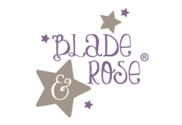 blade and rose logo