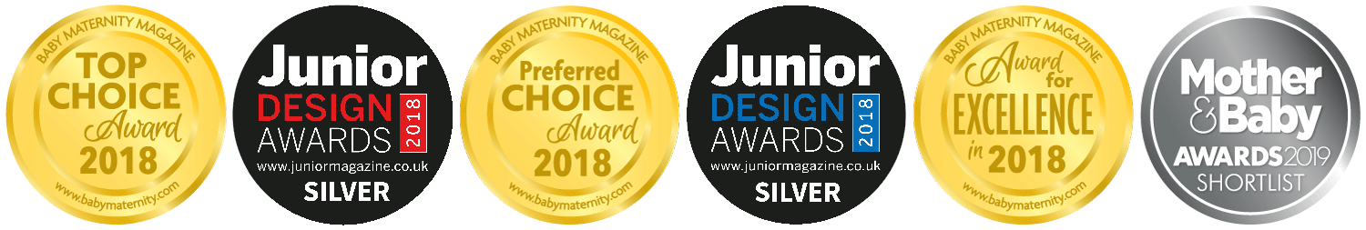 our awards for baby wear and childrens clothing and baby sleepwear