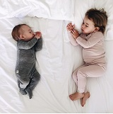 better sleep in our organic merino baby pajamas