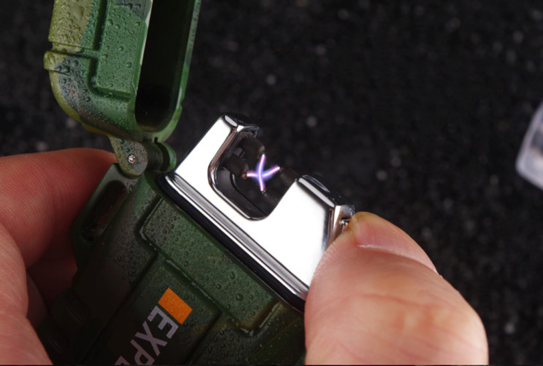 Accendino Anti Vento USB Tattico