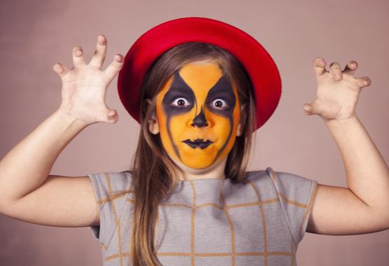 Halloween gezicht