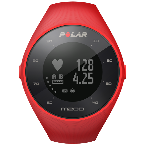Polar M200 GPS Watch Red