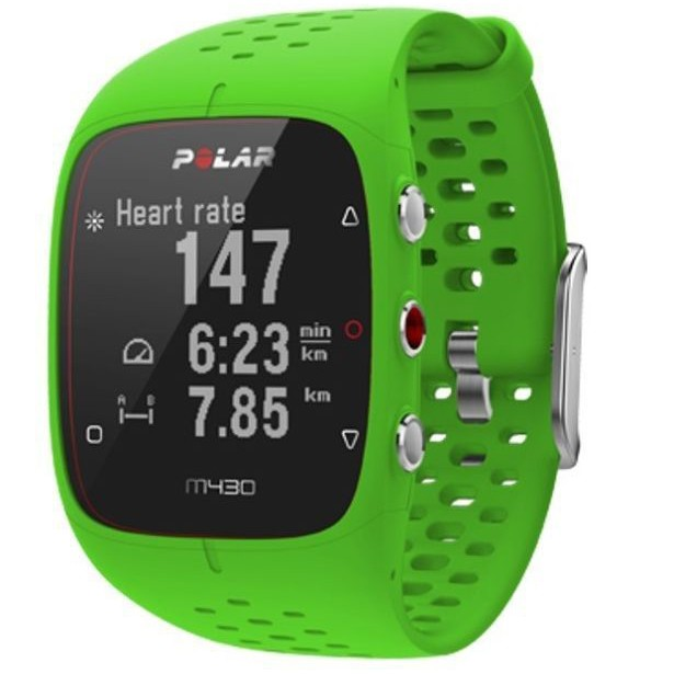 Polar M430 Green, puke green, lime green, GPS running watch for runners