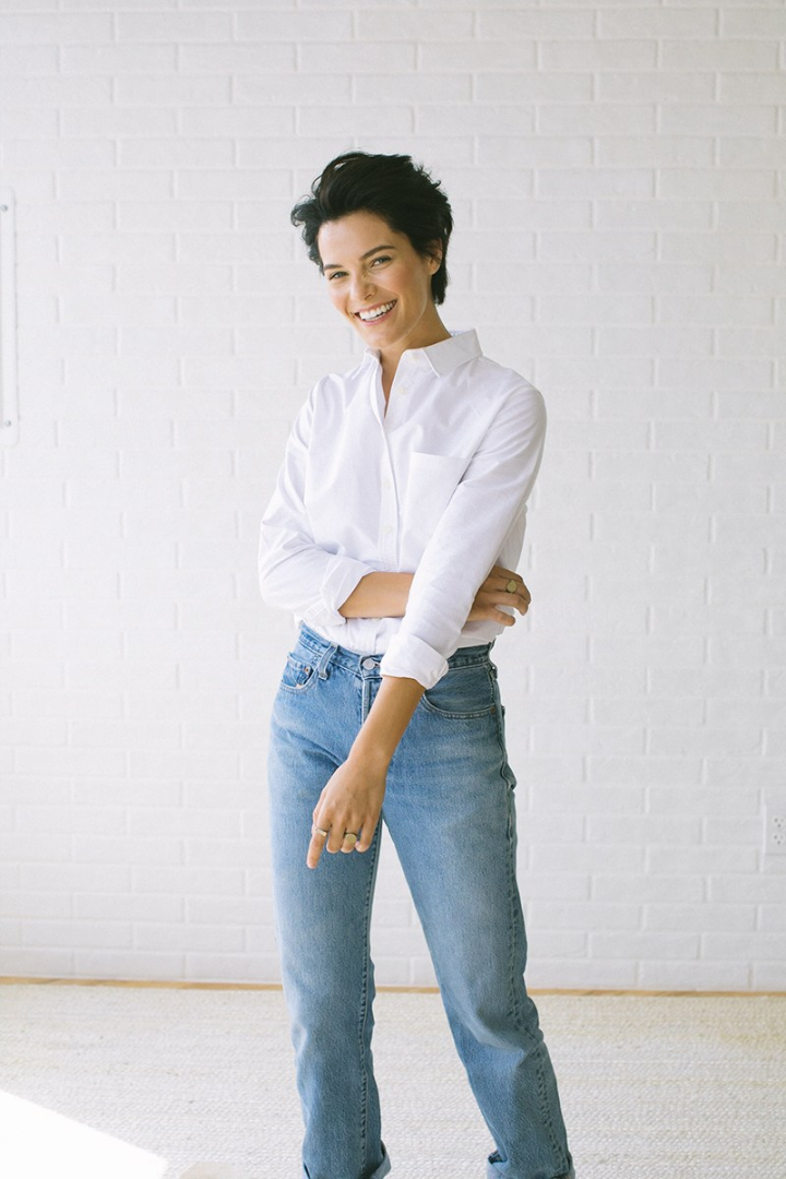 Oxford Shirts for Women | 101 The Elms White