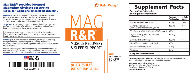 mag R&R ingredients