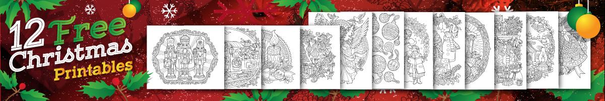 12 Free Christmas Printable Pages