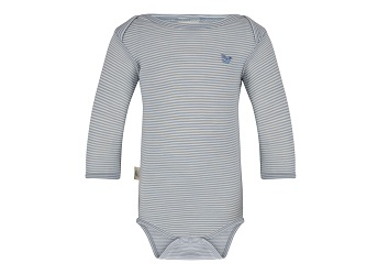 organic merino wool bodysuit for baby boy