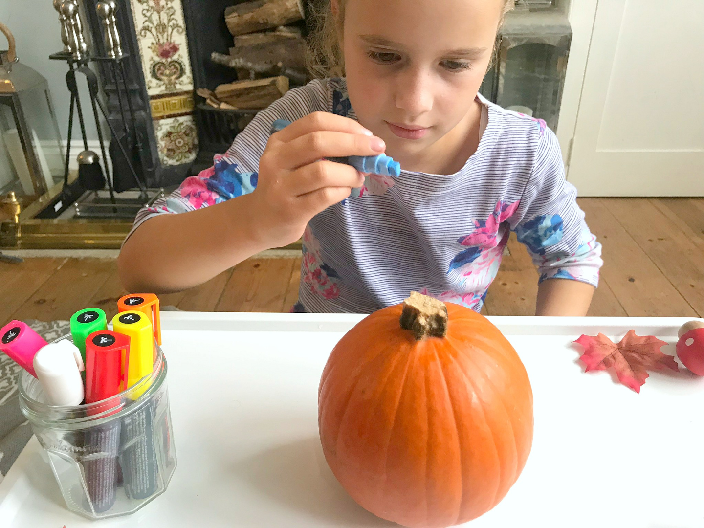 Thankful Pumpkins Activity