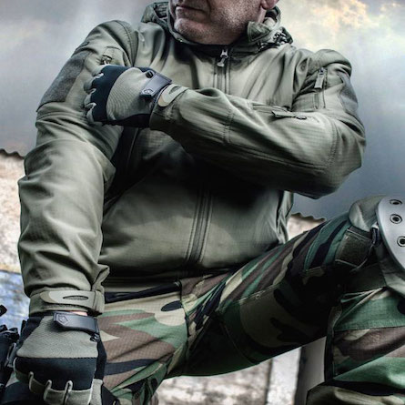 Giacca Tattica Militare Caccia Sopravvivenza Outdoor Anti vento Anti Pioggia