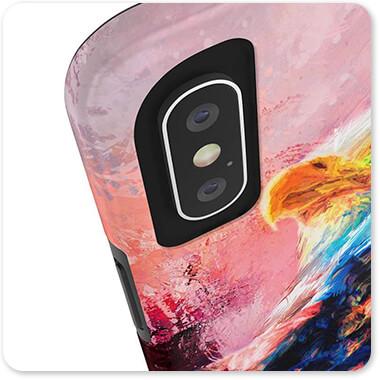 Bald Eagles Collection Jazzy Bald Eagle - Tough Cell Phone Case