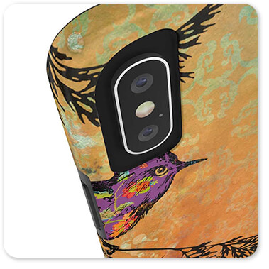 Birds Collection Birds On Branches - Classic Slim Tough Cell Phone Case
