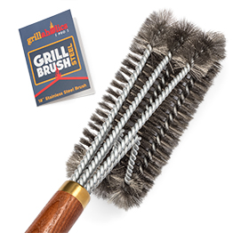 Pro Grill Brush Steel