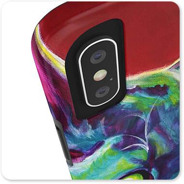 Cats Collection - Devon Rex - Tough Cell Phone Case