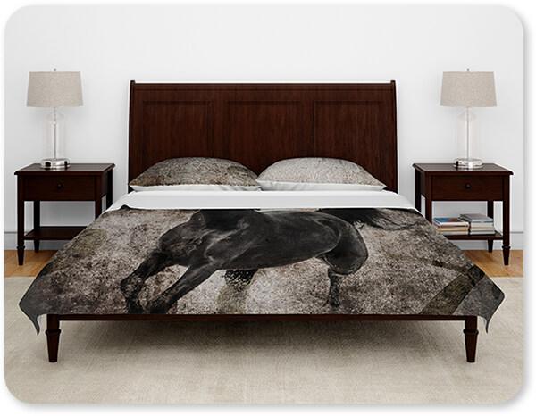 GypsyHorse Collection Duvet Bedding Set in Formal Bedroom v1.3 Suite