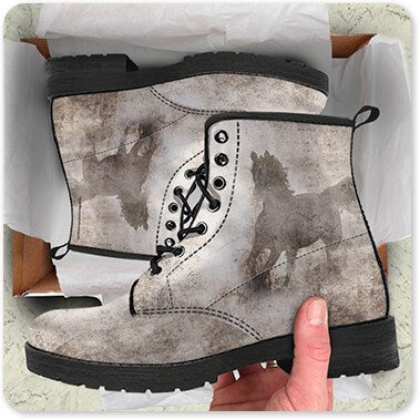 GypsyHorse Collection Men's Women's Leather Boot v2.6 - EXPRESS DELIVERY!