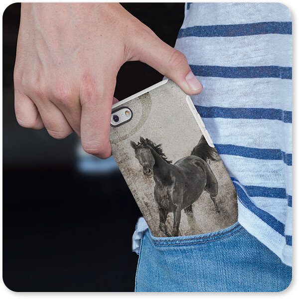 GypsyHorse Collection iPhone 6 Case Being Taken Out of a Pocket v1.3