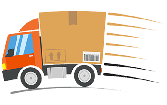 DeliveryTruck Fast Speedy Expedited Shipping Right To Your Door with Tracking Number