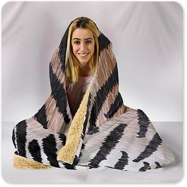 Animal Patterns Collection v1.6 - Hooded Blanket Leopard, Tiger, Zebra, Cheetah, Snake print patterns
