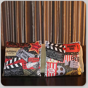 AllTypeSupply.com HAPPY CUSTOMER TESTIMONIAL Social Proof - Home Movie Theater - Pillows - 4 Designs Home Movie v1, Home Movie v2, Movie Night v1, and Movie Night v2