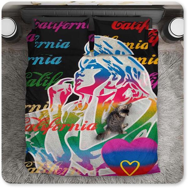 California Surf Collection California Love 1 - Duvet Bedding Set